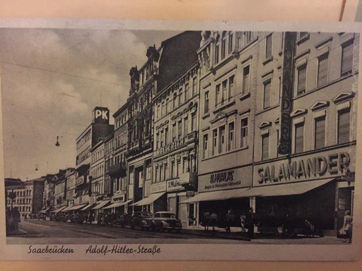 #Hier #haben #wir #die Bahnhofstrass  #damals #unter #einer #etwas #an... #Hier #haben #wir #die Bahnhofstrass, #damals #unter #einer #etwas #anderen Namensgebung.  #Saarbruecken / #Saarland   #Hier #haben #wir #die Bahnhofstrass, #damals #unter #einer #etwas #an... http://saar.city/?p=42727