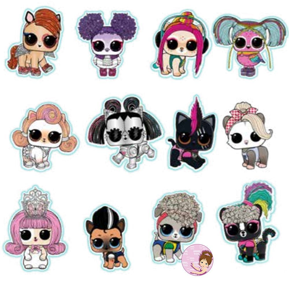 Checklist L O L Surprise Lights Pets Series 2020 Lol Dolls Bee Art Princess Paper Dolls