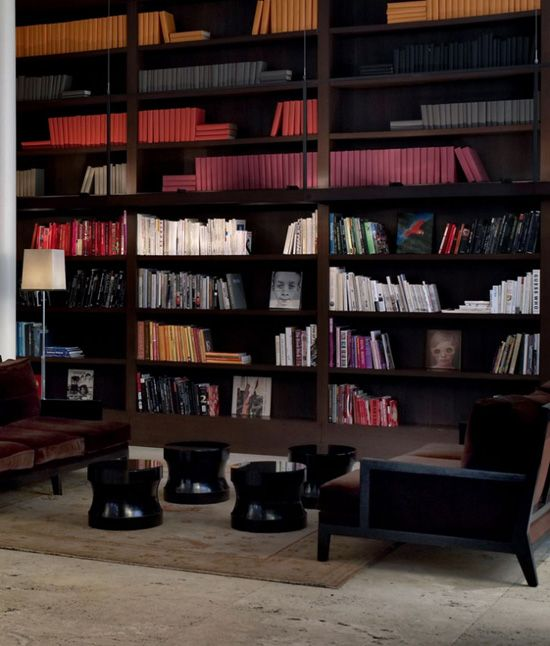 The Library Hotel In Manhattan, New York, An Entirely Library Themed Hotel.