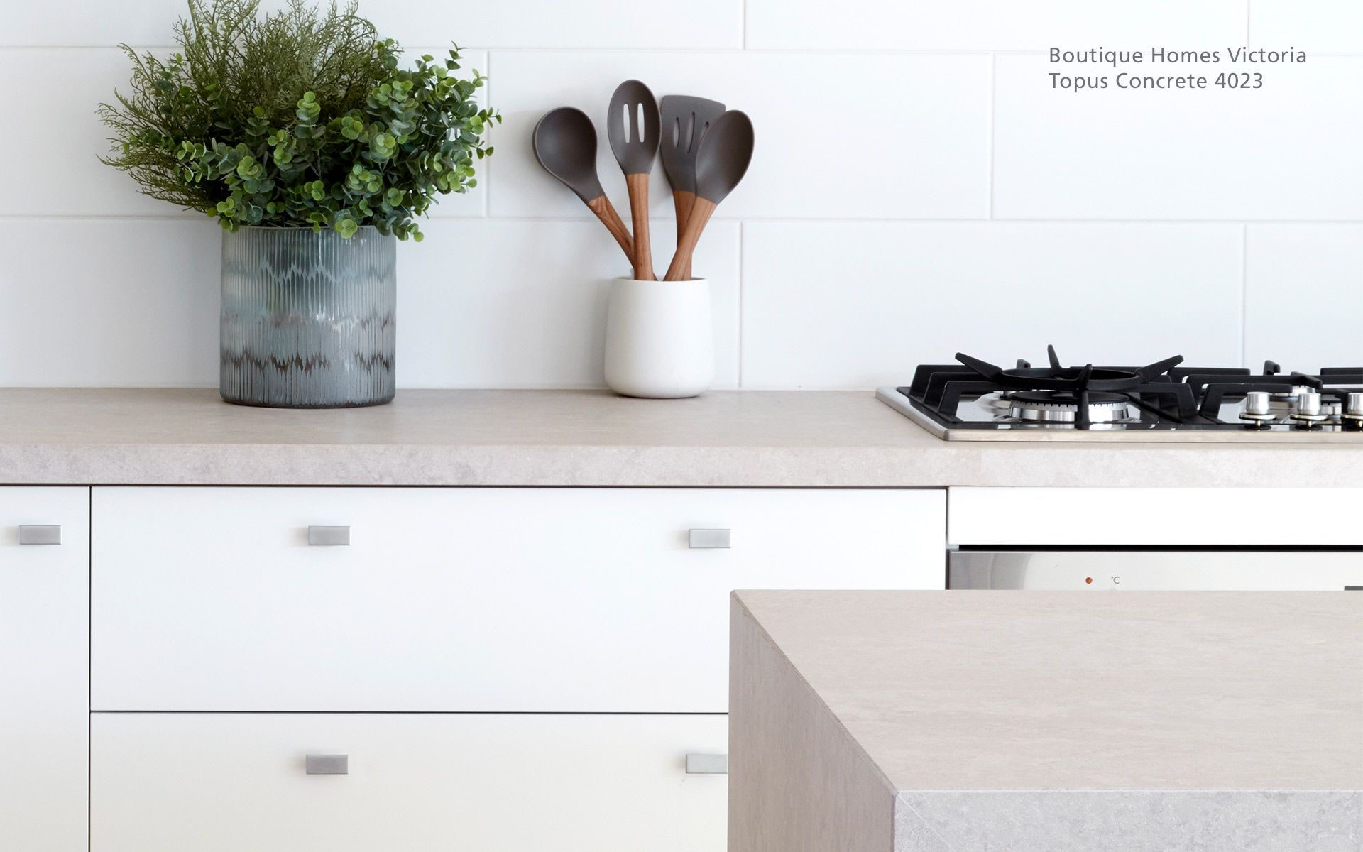 Caesarstone Topus Concrete Quartz That Looks Like Granite Caesarstone Caesarstone Kitchen Concrete Kitchen