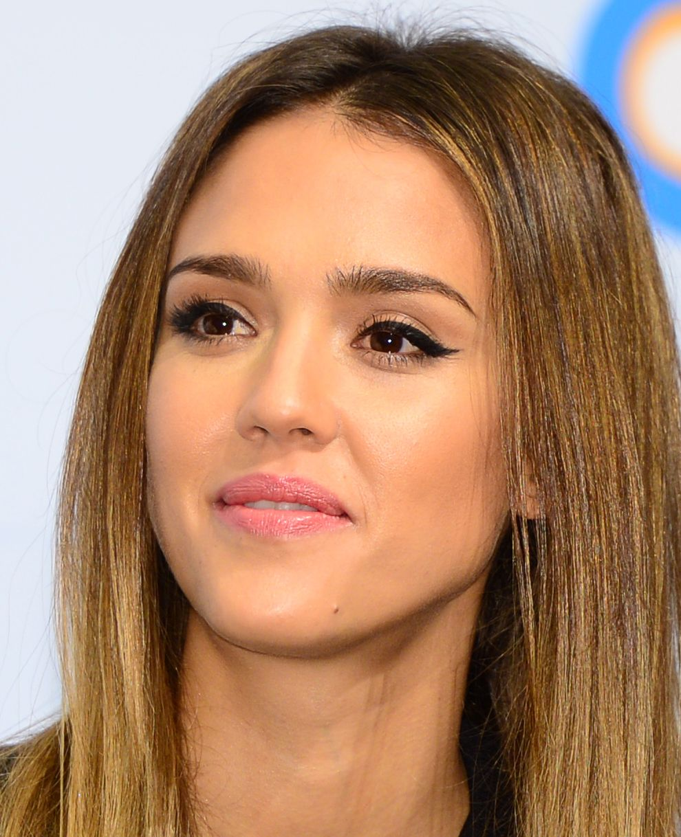 jessica alba Jessica alba, Hair makeup, Beauty