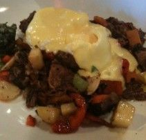 Goodtaste.tv: Short Rib and Butternut Squash Hash with Poached Eggs