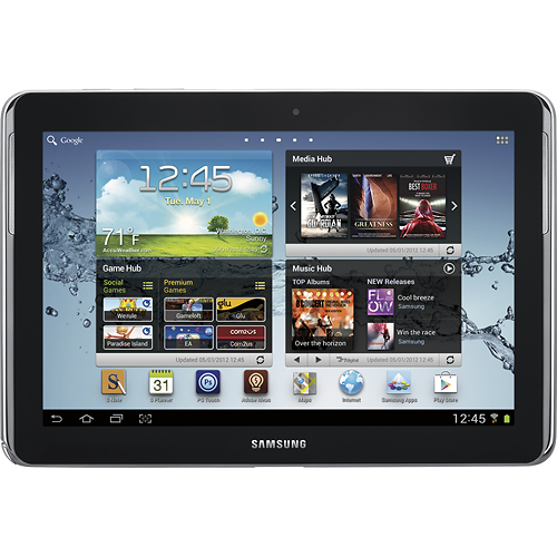 Samsung Galaxy Note 10 1 Tablet W 32 Gb Memory Deep Gray Best Buy 499 99 Samsung Tablet Galaxy Tablet Samsung Galaxy Tab