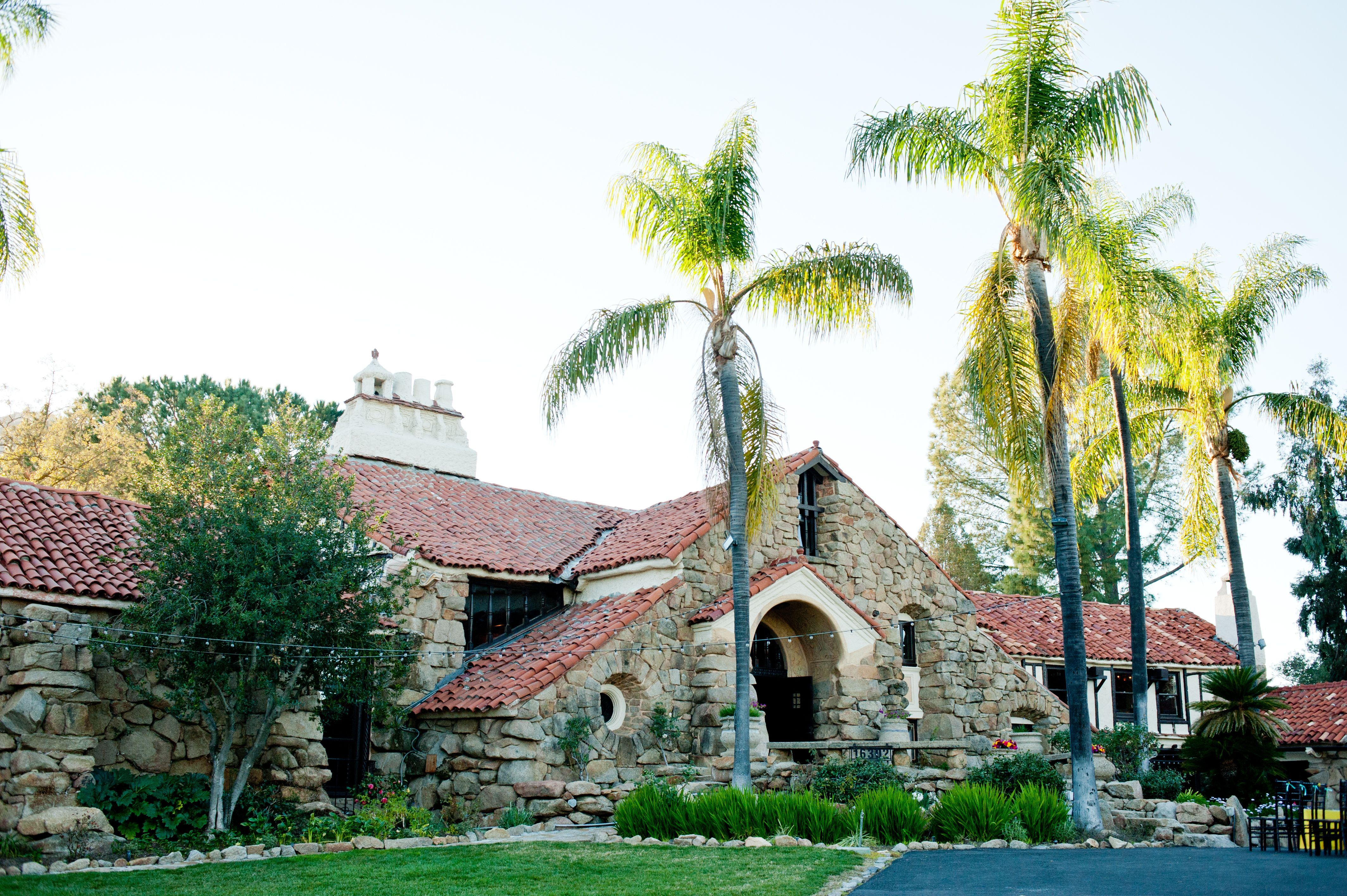 Mt. Woodson Castle San Diego, CA Wedding and Reception