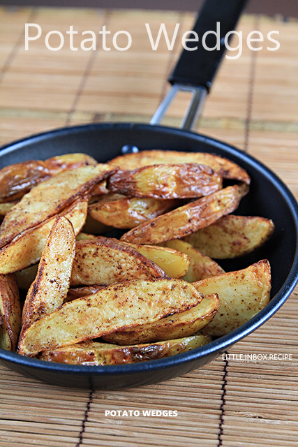 Potato Wedges (AirFryer Recipe) Air fryer recipes