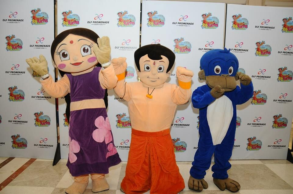 Chutki, Chhota Bheem and Jaggu Fun with Chhota Bheem Pinterest - best of chhota bheem coloring pages games
