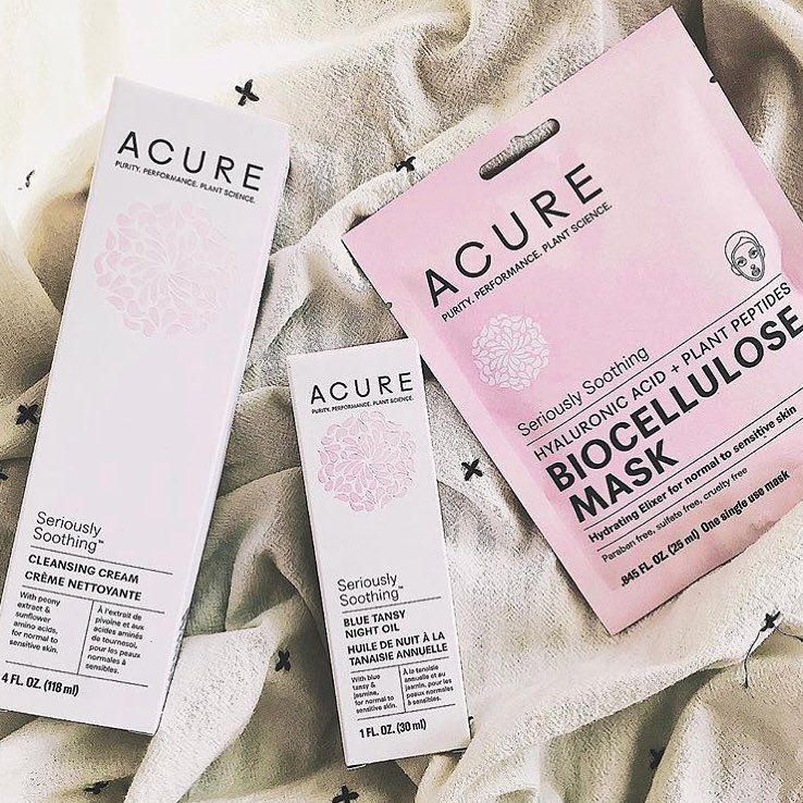 Acure Seriously Soothing Line For Sensitive, Redness Prone