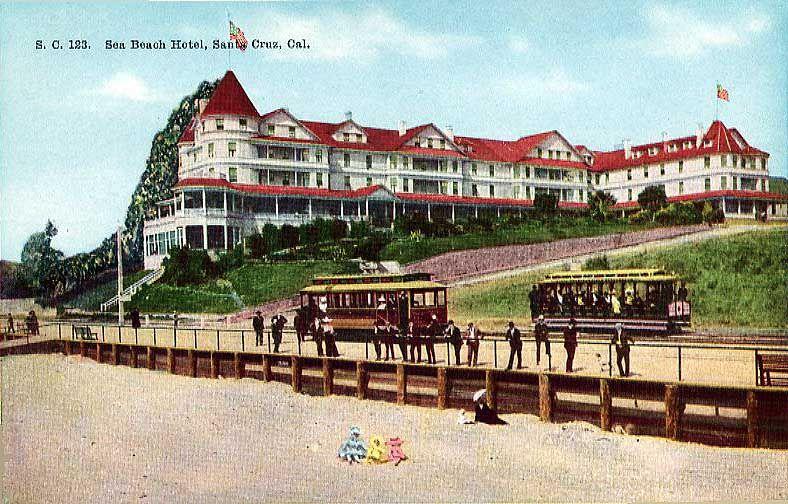 Sea Beach Hotel Santa Cruz Ca