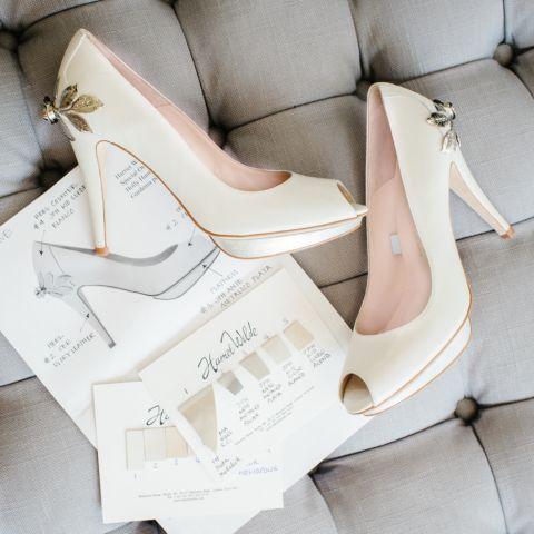 Introducing Harriet Wilde Sakura wedding shoes by designer Ruth Shaw at Harriet Wilde. http://www.pierrecarr.com/blog/2015/03/introducing-harriet-wilde/