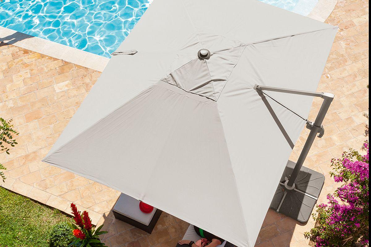 Parasol d port fresno terraza y jardin pinterest - Parasol deporte jardiland ...
