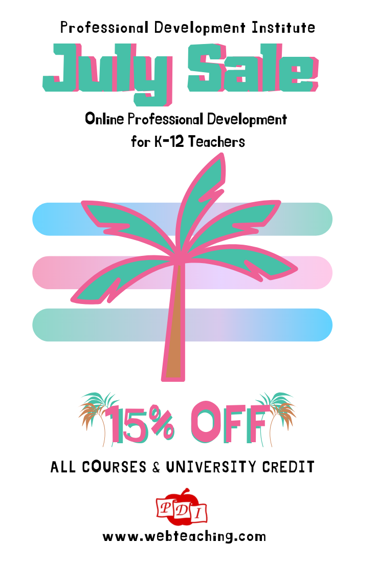 Get 15 off all of our online professional development
