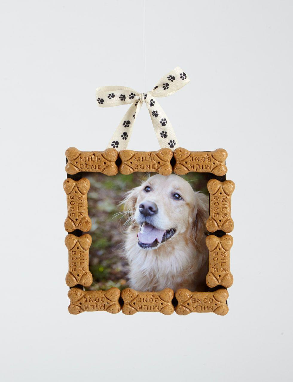 DIY dog bone holiday ornament Dog christmas ornaments