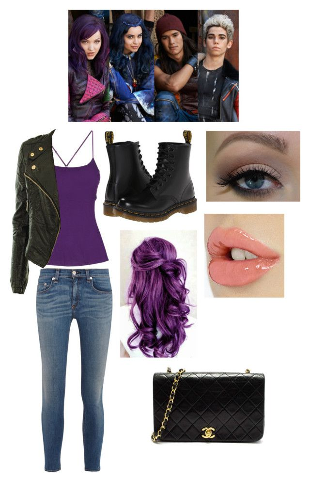 descendants mal 39 s outfit outfit ideen outfit und kost m. Black Bedroom Furniture Sets. Home Design Ideas