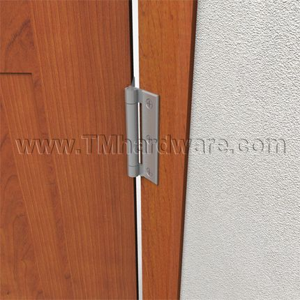 Exceptional Jamb W/ Surface Hinge Example. Hager AB701, Half Mortise Three Knuckle Door  Hinge