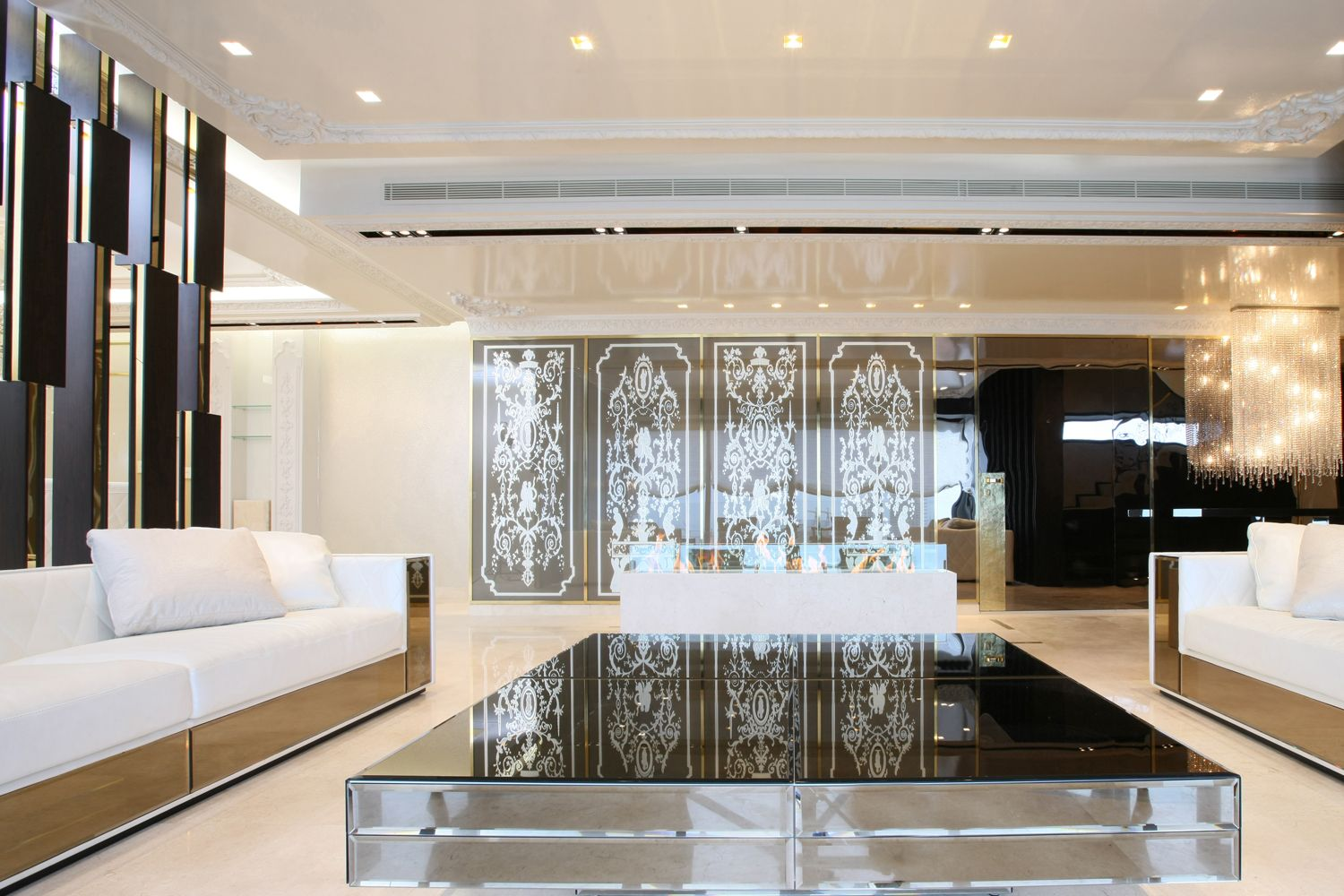 modern luxury interior...a mix of classics and modern ...
