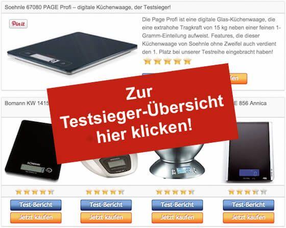 Digitale Kuchenwaage Testsieger Tabelle Stoerer Ideas For The