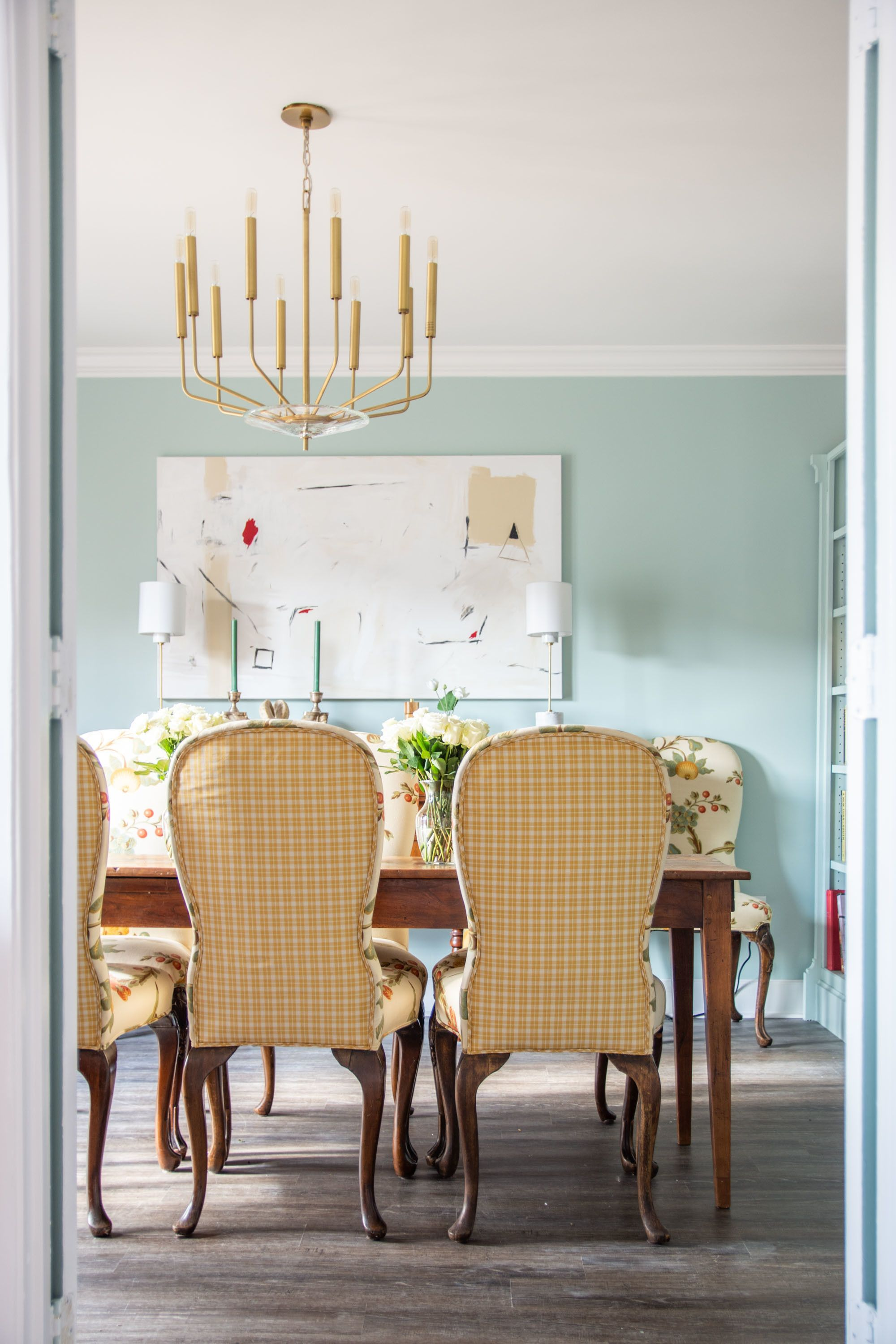 Step Inside This Stunning Dining Room Makeover Dining Room Paint