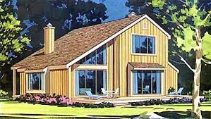 Image Result For Dormer Bungalow Saltbox Roof Modern Contemporary House Plans Shed House Plans Contemporary House Plans