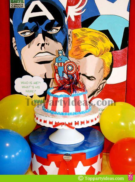Captain America Birthday Party Ideas