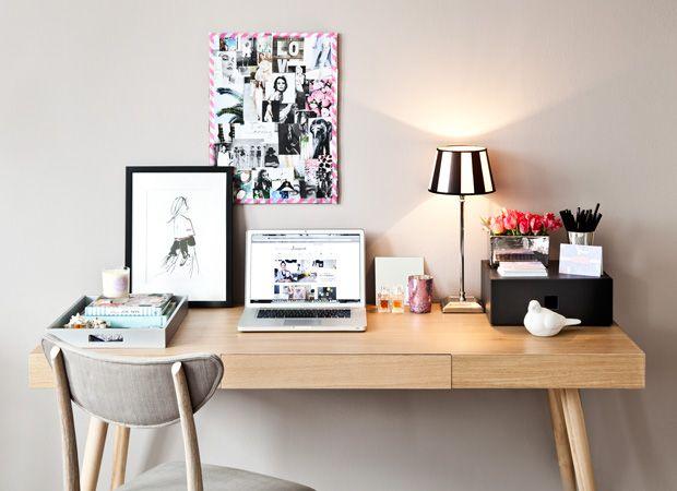 Wandfarbe Arbeitszimmer ~ Der perfekte schreibtisch schreibtische schreibtisch deko und