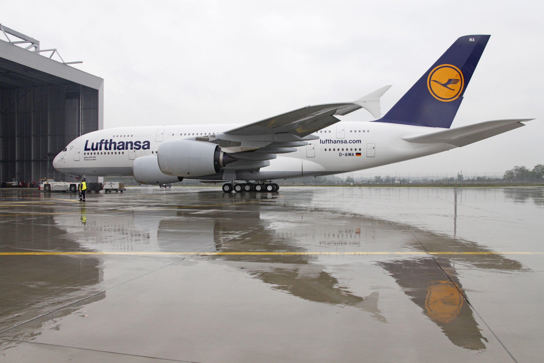 самолет люфтганза фото охлобыстин
