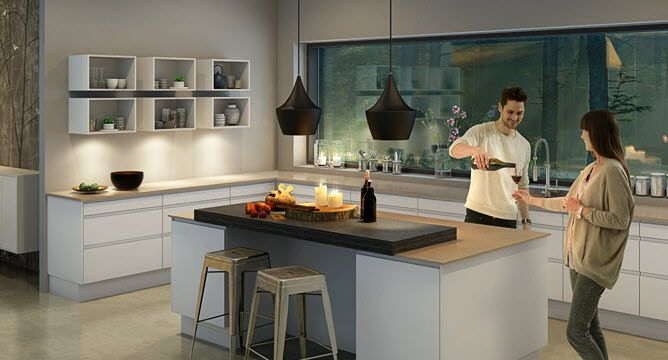 Kitchen Designs Modern Island With Nice Of Fruit Table And Sweet Situation Lamp