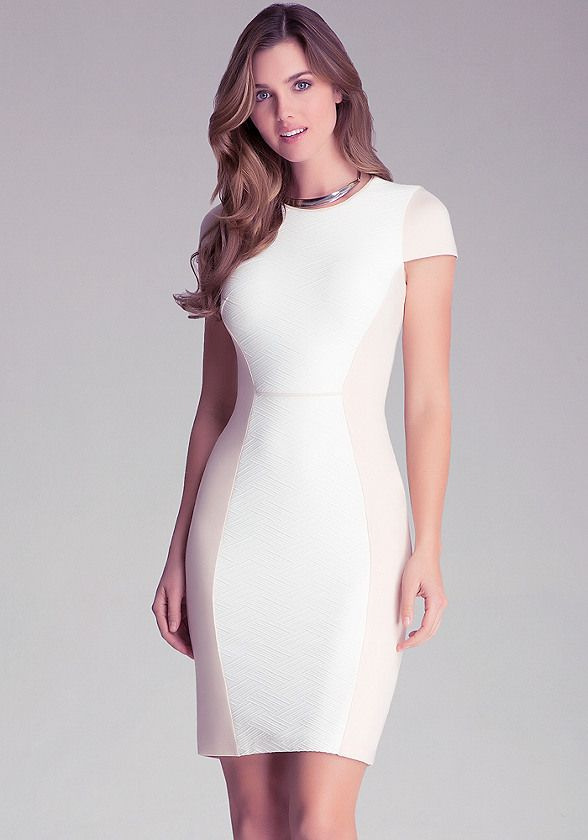 Taylor Textured Knit Dress - All New Arrivals | bebe | MUJERES ...