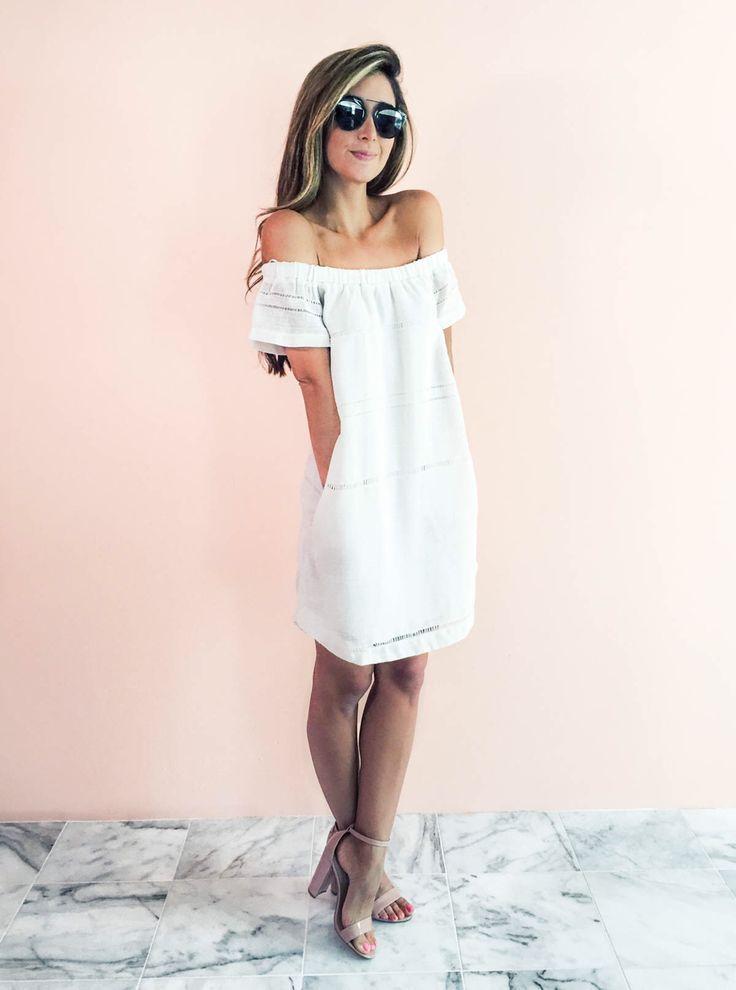 online retailer de031 adb66 Quali scarpe indossare con un vestito bianco 50+ outfits ...