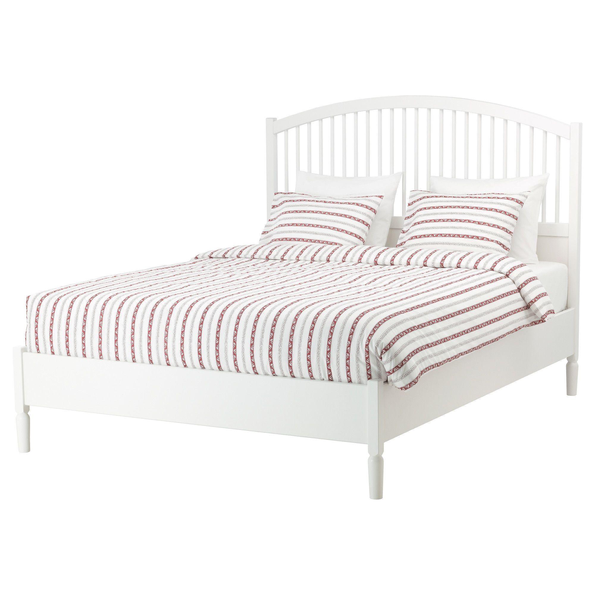 TYSSEDAL Bed frame white Full Ikea bed frames, Ikea