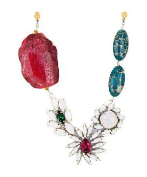 Ayana Designs Lala Necklace #accessories  #jewelry  #necklaces  https://www.heeyy.com/suggests/ayana-designs-lala-necklace-agate-czech-glass/