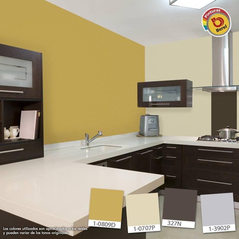 Es Tiempo De Renovar Tu Cocina, Utiliza Colores Ocres Que Ayudan A  Estimular El Apetito