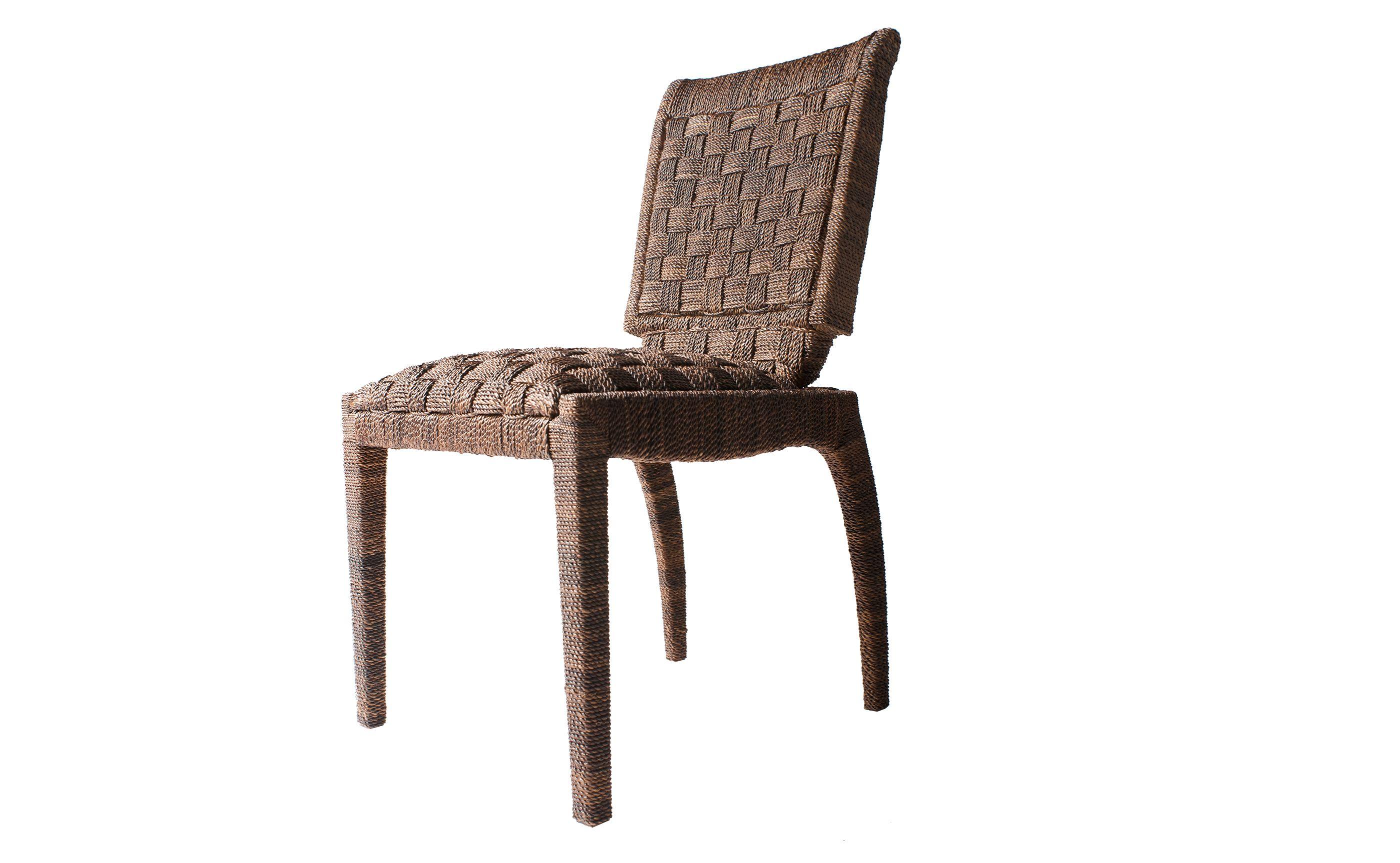 Eric Brand Talker Woven Side Chair