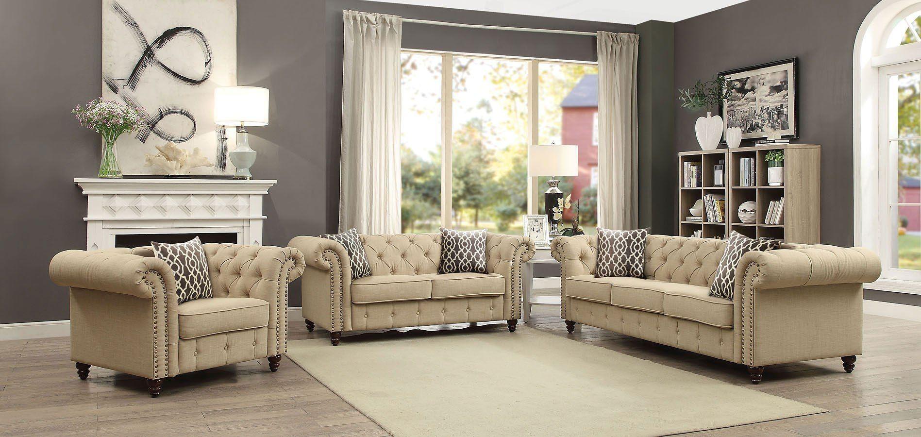 Aurelia living room set beige у р Список покупок
