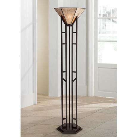 Franklin Iron Works Fletcher Iron Torchiere Floor Lamp 1h134 Lamps Plus Torchiere Floor Lamp Floor Lamp Styles Franklin Iron Works