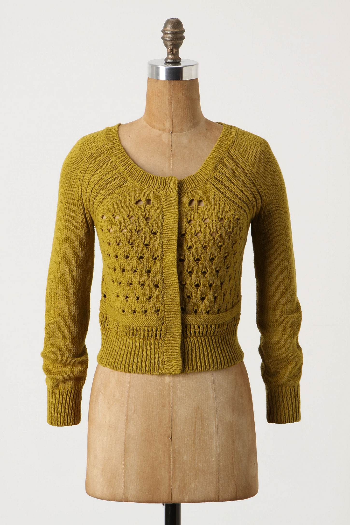 mustard yellow cardigan. from anthropologie. | wearables ...