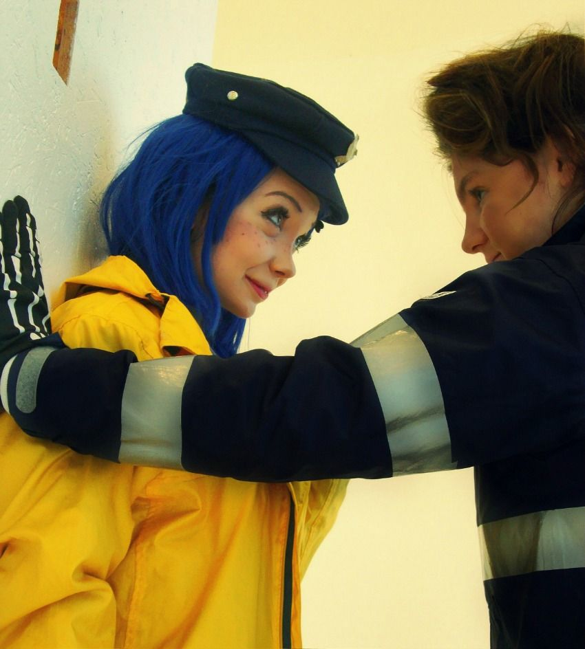 Coraline And Wybie Cosplay Coraline And Wybie Coraline Cosplay