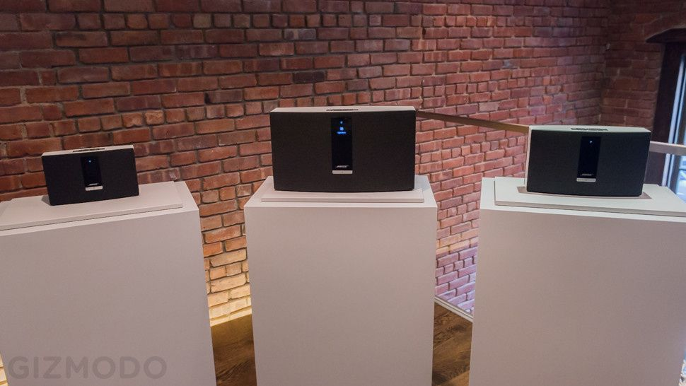 Bose SoundTouch Is a Simple, Sonos-Like Wireless Music System #musicsystem