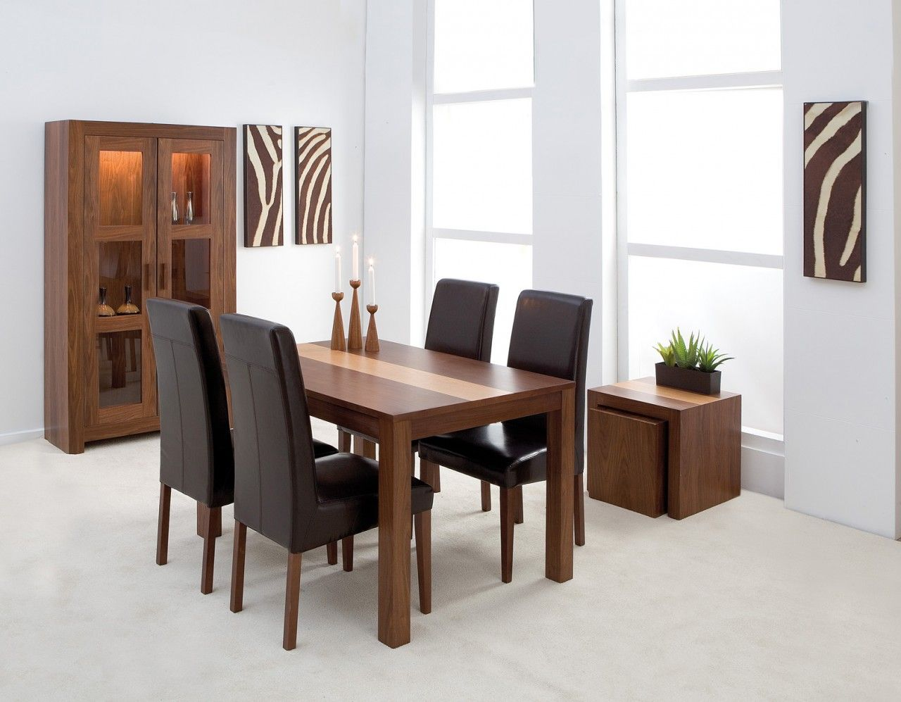 4 Chair Dining Table Set | Chair Sets | Pinterest