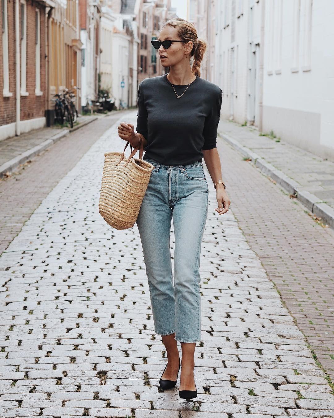tenue femme simple et efficace tenues estivales en 2019. Black Bedroom Furniture Sets. Home Design Ideas