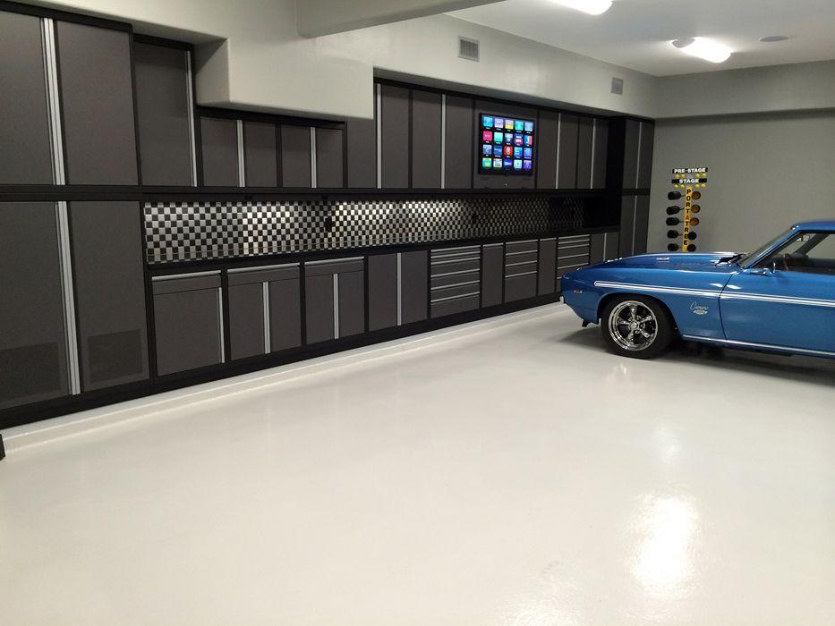 Garage Cabinets Garage Man Cave Pinterest
