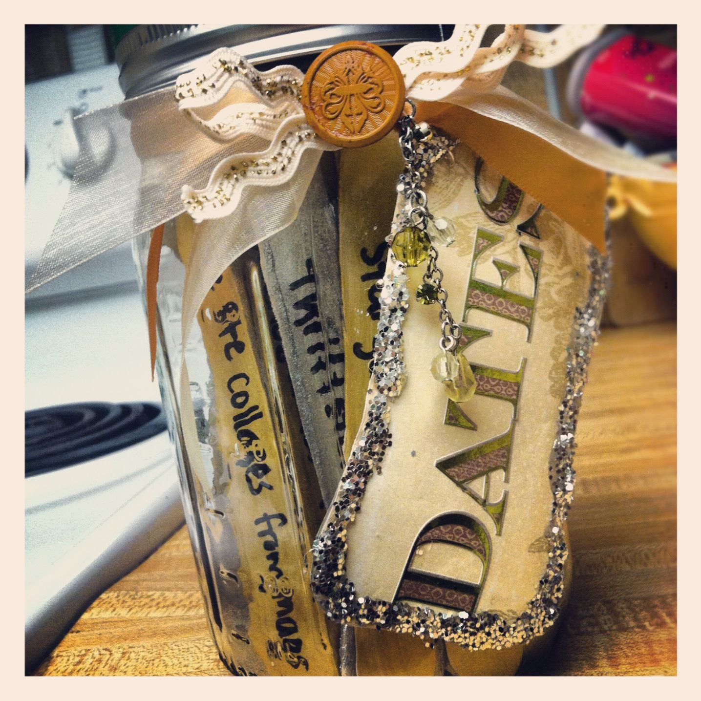 Dates jar idea from pinterest my creations pinterest jars