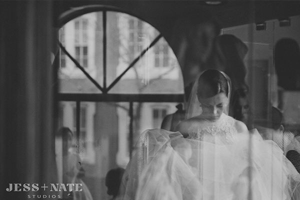 LOVE-Real Wedding: Sloane and Michael | Rosa Clara @ Henry Ford Museum, Dearborn, Michigan (MI) from Le Salon Bridal Boutique | Michigan, Chicago, Indiana