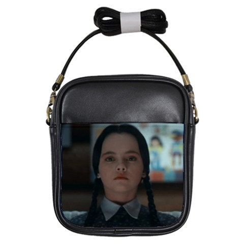 Wednesday Addams Mini Cross Body Bag Free by Totalchaosbootique, $25.00