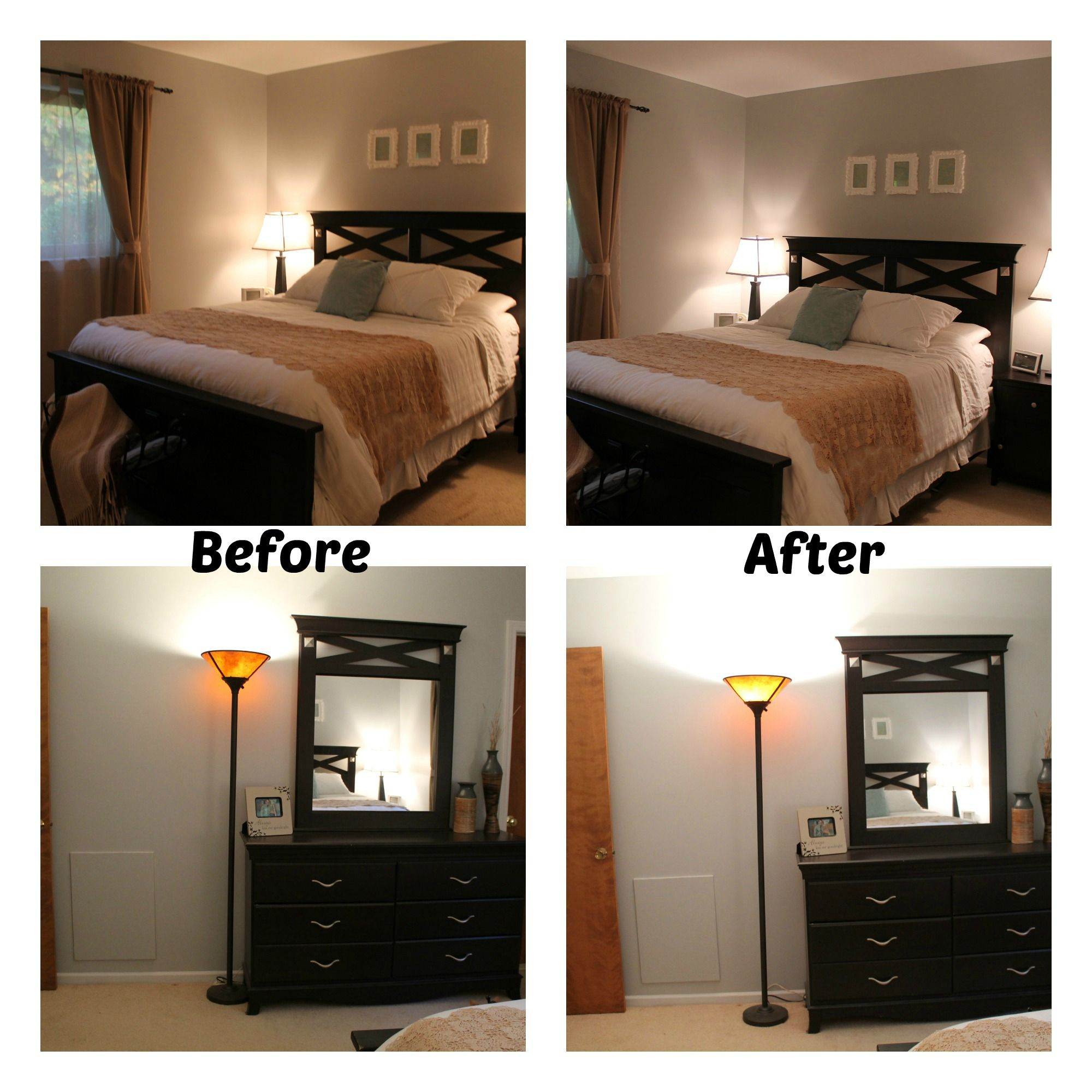 Yellow Lighting Can Completely Change The Way Your Paint Color - What color light bulb for bedroom