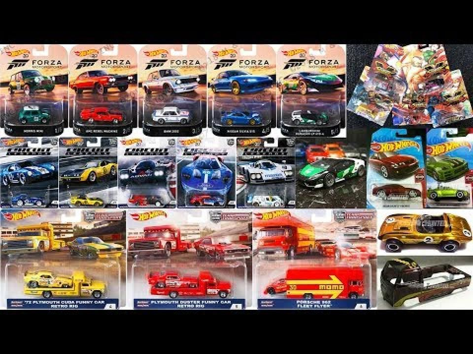 New Hot Wheels Series, 2019 Super Treasure Hunts, Car ...