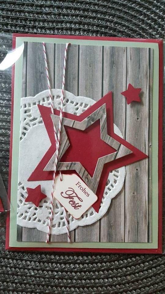 Handarbeit Weihnachtskarten z. T. Mit stampin up neu in Rheinland-Pfalz - Altenkirchen