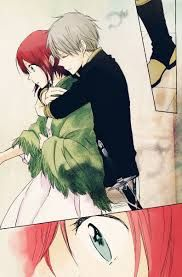 Akagami no shirayukihime   This one is so sweet.  I really loved this anime. It was honest and pure.