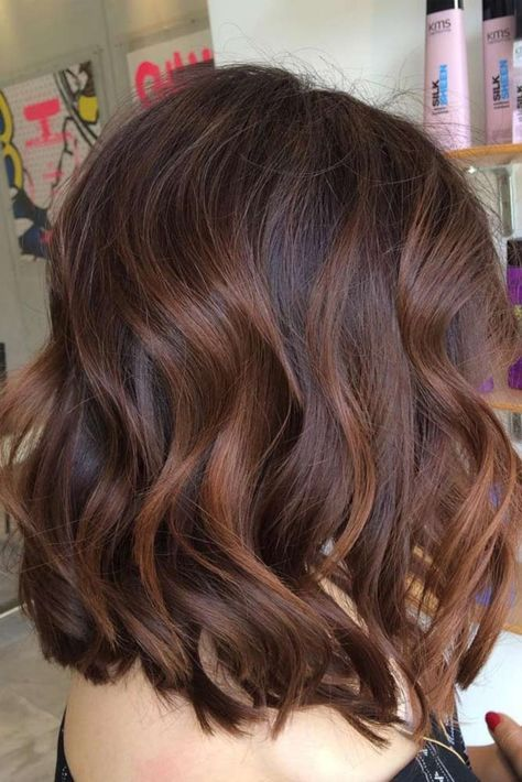 50 Balayage Hair Ideas in Brown to Caramel Tone #hairideas
