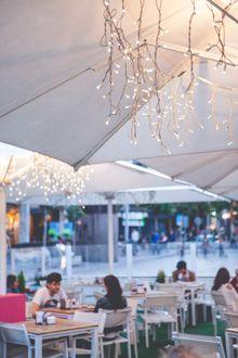 Ideas de iluminación  para decorar restaurantes, bares, terrazas...