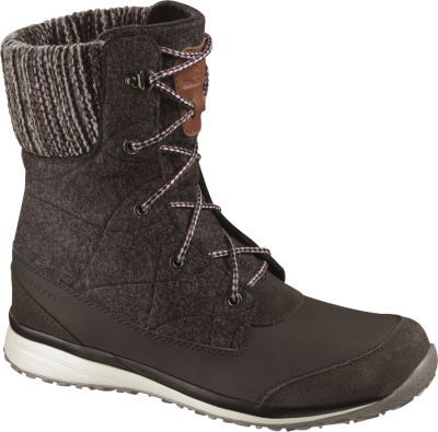 With Salomon's Women's Hime Mid Boots you can enjoy both a great look and  cold-